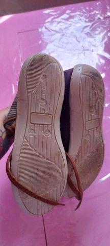 Tênis  feminino bota coturno  - Foto 5