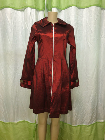 Luxuoso casaco vermelho  - Foto 3