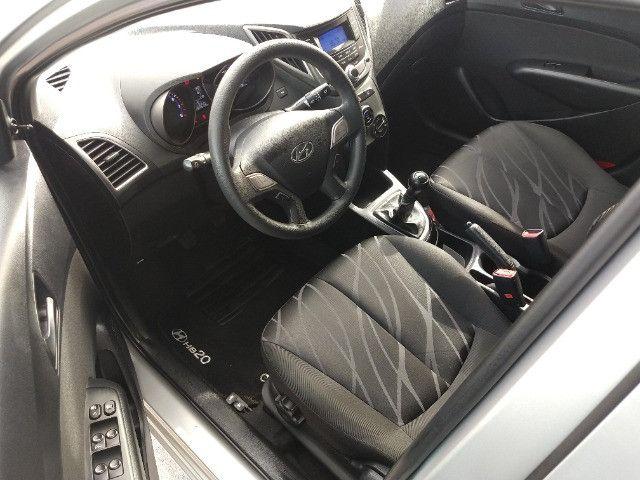 Hyundai HB20S Sedan Comfort Plus 1.0 Flex 2014 - Apenas 87.633 Km / Ipva Pago - Foto 7