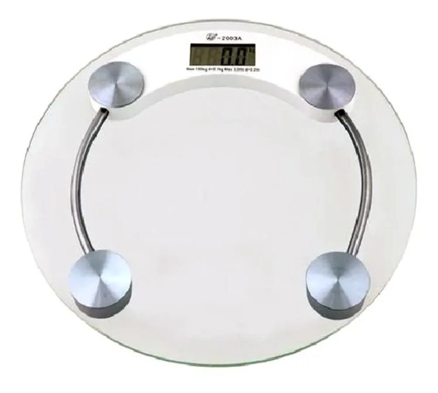 Balança Digital 180kg Eletrônica Lcd Em Vidro Temperado Para Banheiro Academia - Foto 3