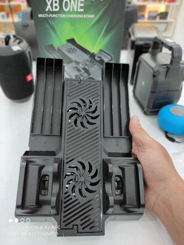 Multi função cooler carregador Xbox one - Foto 2
