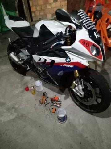 Vendo Excelente moto BMW S 1000 rr  a vista ou parcelado  - Foto 2