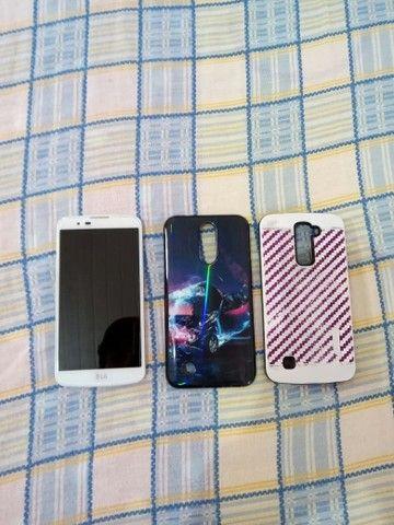 Vendo LG K10 branco com TV - Foto 2