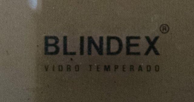 Box banheiro Blindex Fumê - ótimo estado - Foto 4