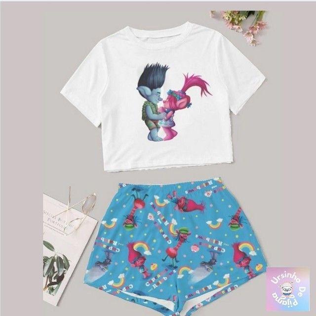 Pijamas Femininos adulto  - Foto 3