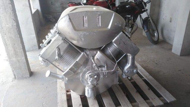 Compressor de ar silo de cimento carreta a granel - Foto 3