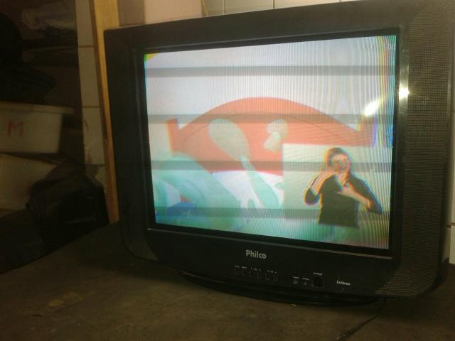 Tv 21p philco tela plana