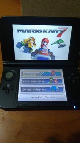 Nintebdo 3ds XL Mario Kart 7 mais 4 jogos