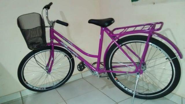 Bicicleta feminina nova sem uso