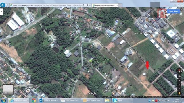 Terreno industrial à venda, Porto Grande, Araquari.