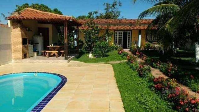 Casa em Tabuba com 450 m² de terreno, 3/4, só 270 mil!