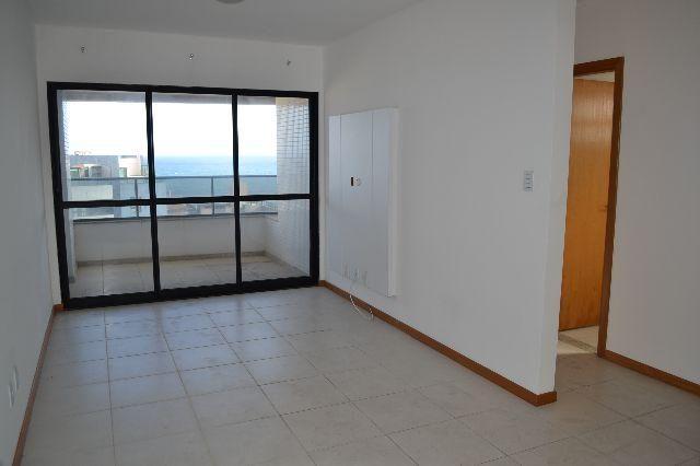 Apartamento de 1 quarto, locação, vista mar, nascente total – Pituba