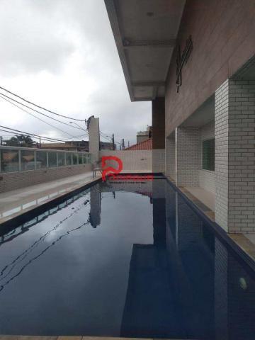 Apartamento para alugar com 3 dormitórios em Guilhermina, Praia grande cod:376 - Foto 2