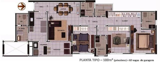 Ed Porto Real - Guanabara | Jardim das Américas - 3 quartos - 100m² - Foto 2