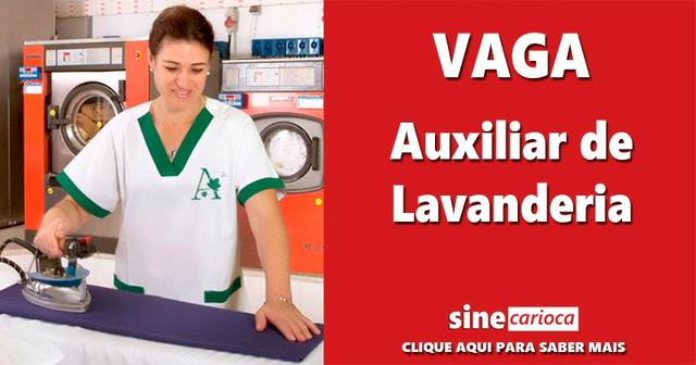 Auxiliar de Lavanderia - Juvevê - feminino