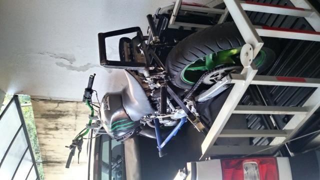Moto para manobras stunt wheeling - Foto 2