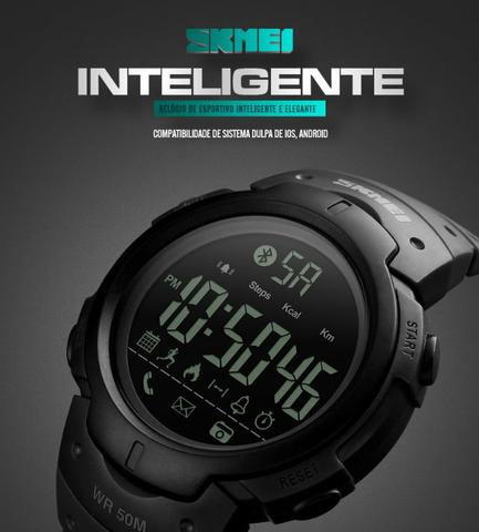 Relógio Digital Bluetooth Smart Watch Skmei SK1301