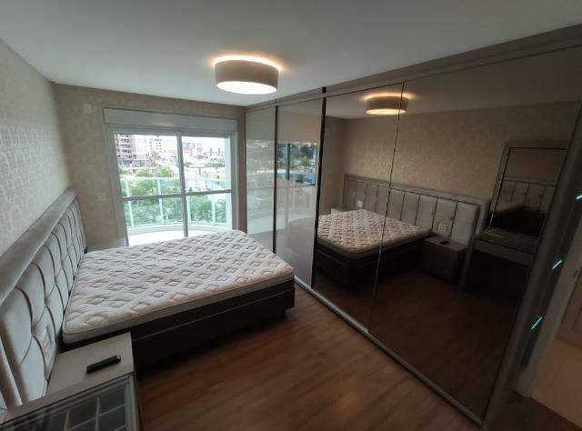 Apartamento Semi Mobiliado no Brava Beach, 4 suites 3 vagas, praia brava Itajai! - Foto 14