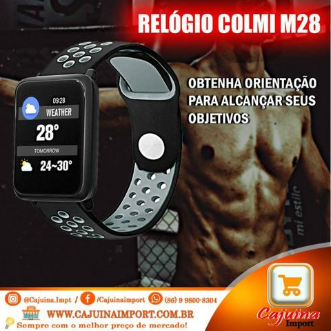 Smartwatch Fitness Colmi M28 Conecta Ios/Android - **