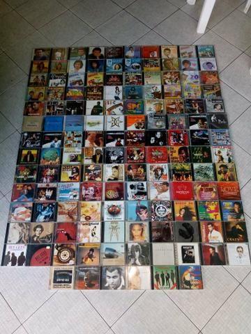 Coleção de CDs originais