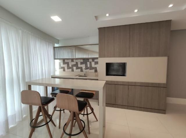 Apartamento Semi Mobiliado no Brava Beach, 4 suites 3 vagas, praia brava Itajai! - Foto 17