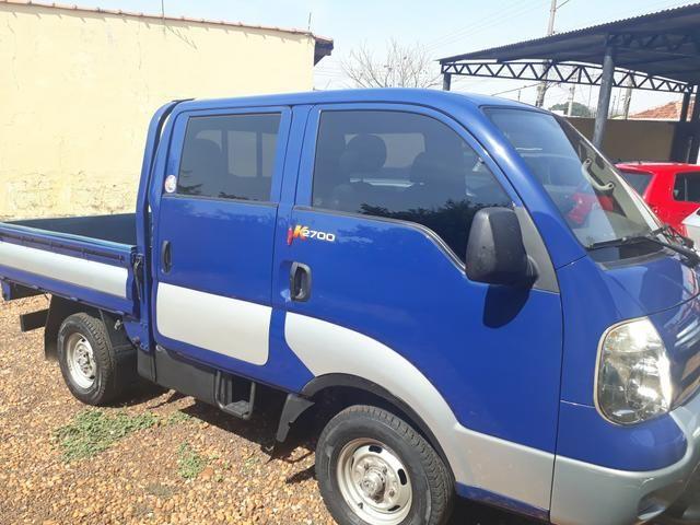 Kia Bongo 2.7 4X4 diesel cab. Dupla 2005 - Foto 6
