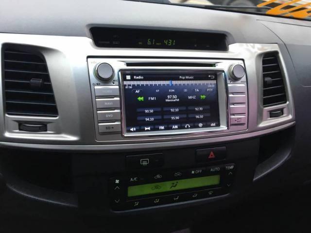Toyota Hilux CD 4X4 SRV AUT DIESEL TOP DE LINHA  - Foto 10
