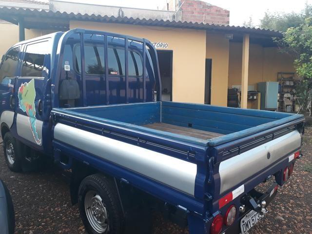 Kia Bongo 2.7 4X4 diesel cab. Dupla 2005 - Foto 5