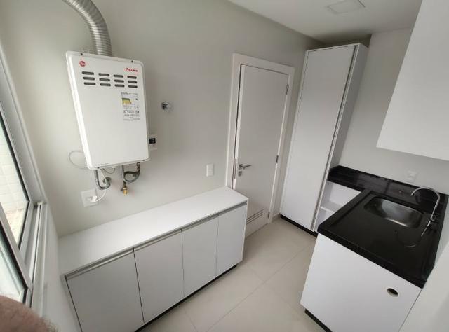 Apartamento Semi Mobiliado no Brava Beach, 4 suites 3 vagas, praia brava Itajai! - Foto 4