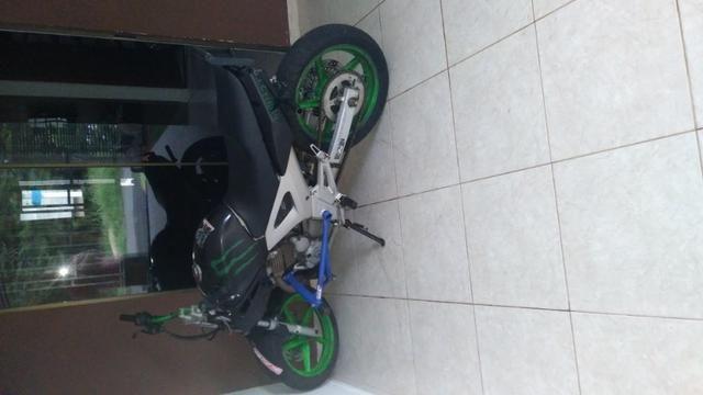 Moto para manobras stunt wheeling - Foto 5