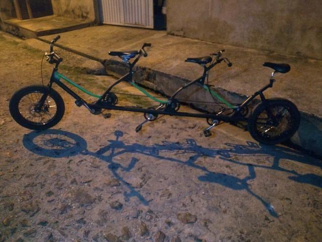 Bicicleta 3 lugares