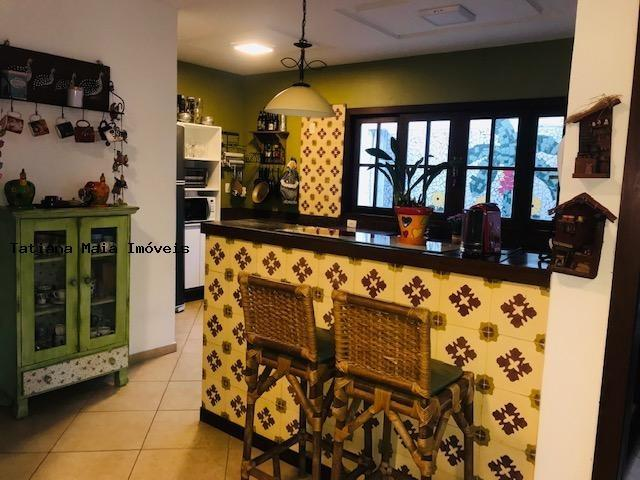 Vende Casa Cond. Fechado em Candelária 3 Suítes 5 Wc 320 mts² Dep.Comp - Foto 3