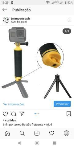 Bastão flutuante + tripé GoPro Hero 3/4/5/6/7 go pro
