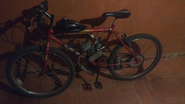 Bike motorizada Savoy 80cc motor zerado$1,100