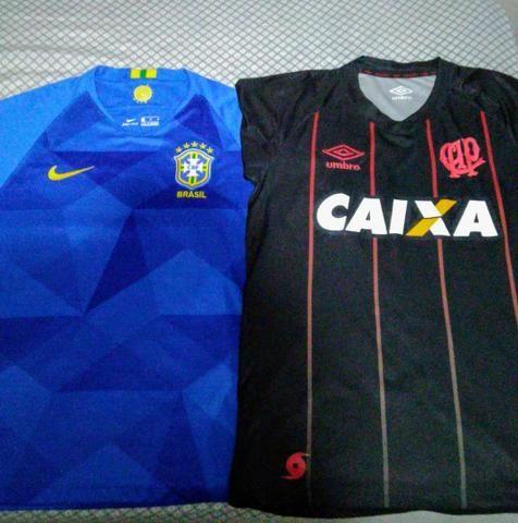 Camisas Athletico/Brasil
