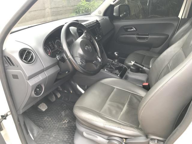 Vendo ou troco amarok por F4000 traçada ano 2012 em diante - Foto 5