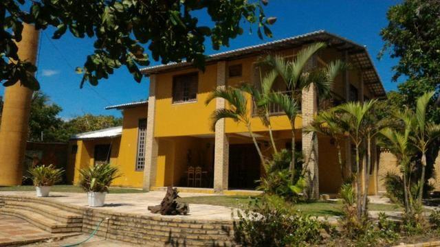 Venício Guimarães Vende Linda mansão no Fortim com píer - Cód 1102