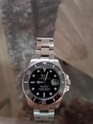 710c5a56e0b Relógio Rolex Submariner Black - Bijouterias