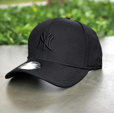 Boné do New York Yankees total black new era - Bijouterias 492fc240a78