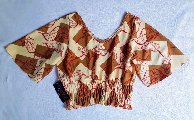 Blusa em viscose  - Foto 3