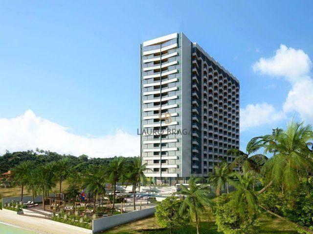 Residencial Riacho Doce Beach Residence Apartamento residencial à venda, Jacarecica, Macei - Foto 2