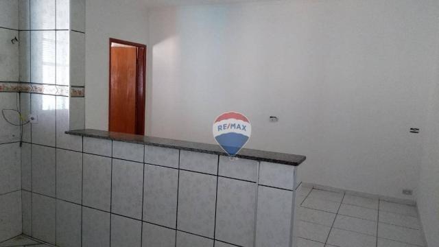Casa 02 dormitórios e/ou salão comercial, locação, R$ 900,00 cada, Cosmópolis, SP - Foto 13