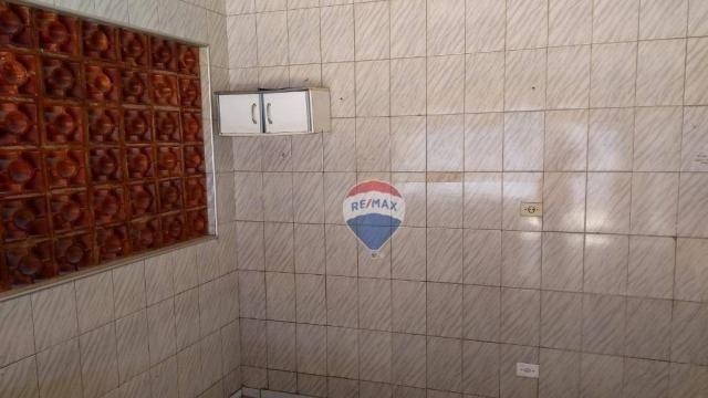 Casa 02 dormitórios e/ou salão comercial, locação, R$ 900,00 cada, Cosmópolis, SP - Foto 3