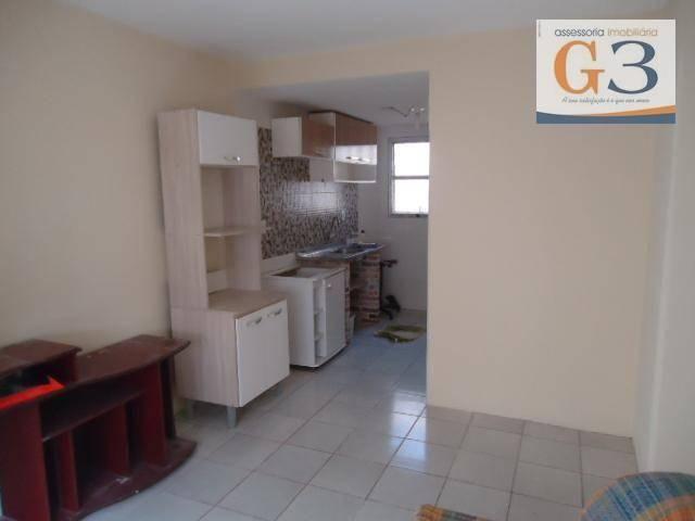 Apartamento com 1 dormitório para alugar, 38 m² por R$ 500,00/mês - Areal - Pelotas/RS - Foto 2