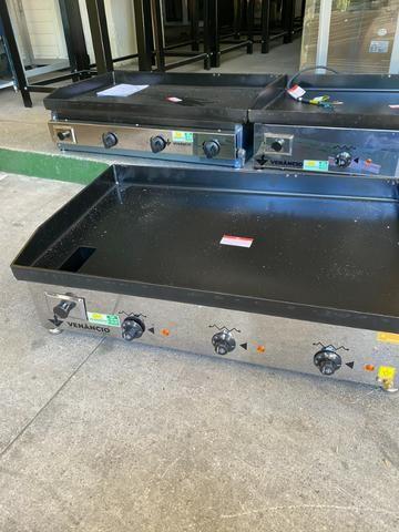 Chapas elétrica / gás - para restaurantes, Hambúrgueria -A gás a partir de r$ 1.630,00 - Foto 5