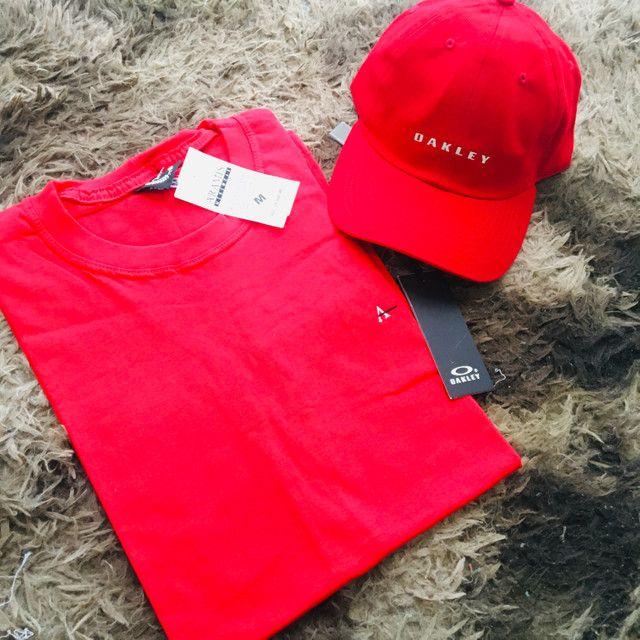 Kit camisa boné - Foto 4