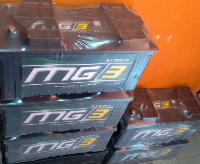 Bateria mg3 150 amperes garantia de 1 ano