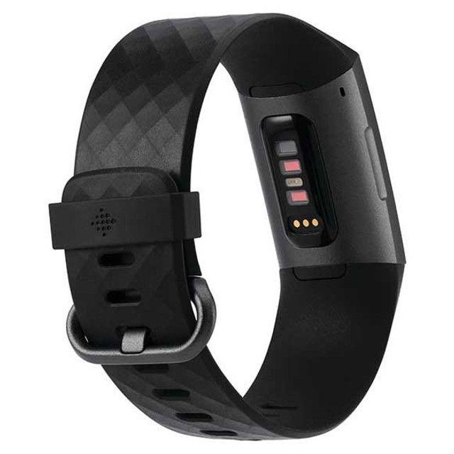 Fitbit Charge 3 Black - Preto - Com 2 Pulseiras P / G - Foto 3