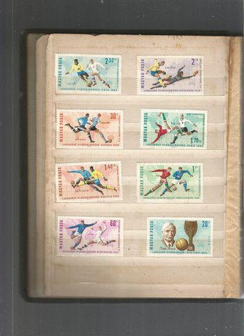 Álbum de selos húngaros - Foto 2