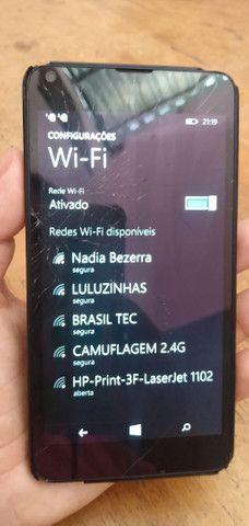 Nokia lumina trincado mais funcionando normal